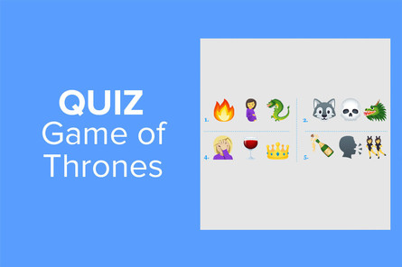 Le quiz Emoji Game of Thrones